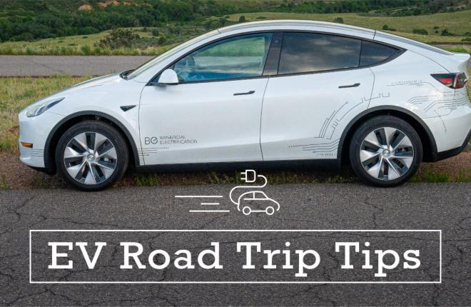 Spring Break Road Trip Tips in Your EV